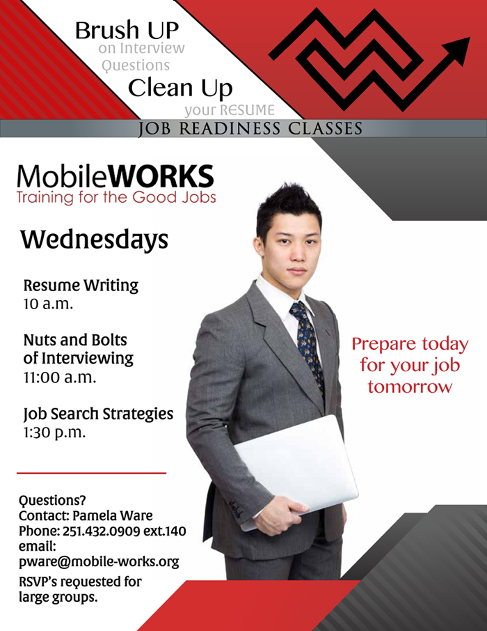 Alabama state employment service resume help